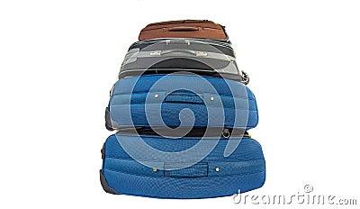 Old Luggage Bags III