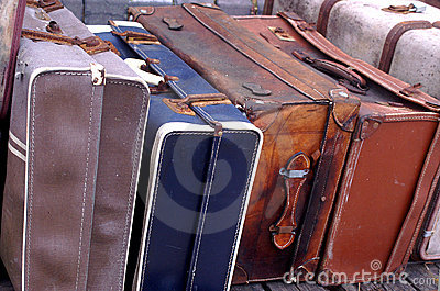 Old Luggage cases