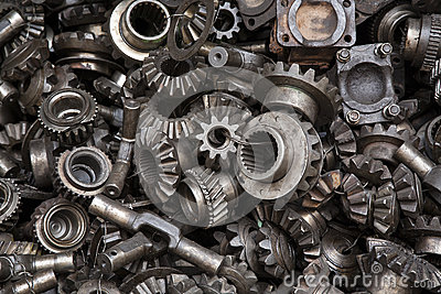 Old Machine Parts Background Stock Photos Image 33248743