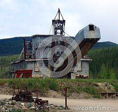 Klondike mining equipment
