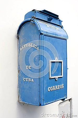 Old Mailbox - Havana, Cuba
