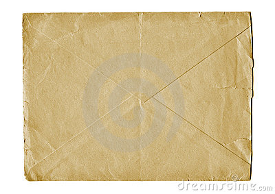 Old mailing envelope
