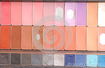 Old make-up powder