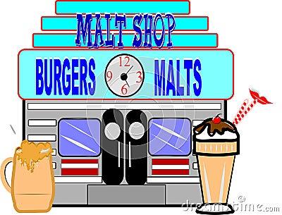 Old malt shop