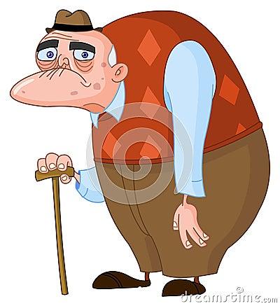 Free Old Man Stock Image - 18150121