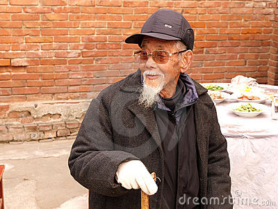 Old man Editorial Stock Image