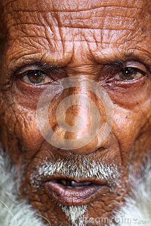 The old man Editorial Image