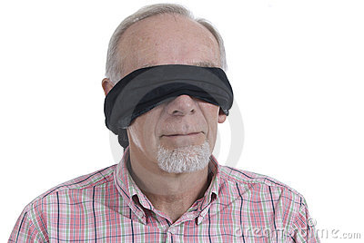 young woman wearing blindfold closeup stock photo getty