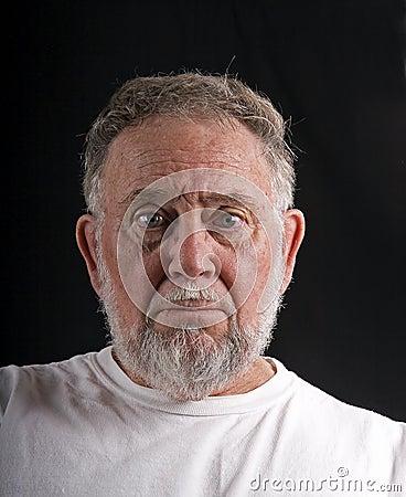 Old Man Mug Shot