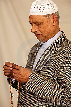 Old man muslim