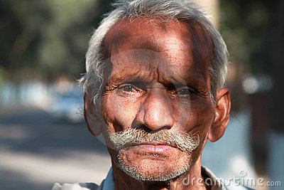 Old man portrait Editorial Stock Photo