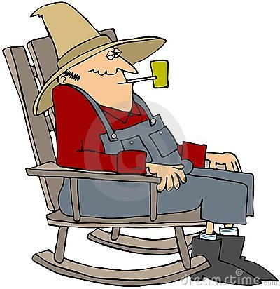 Image result for cartoon of old man in a rocking chair