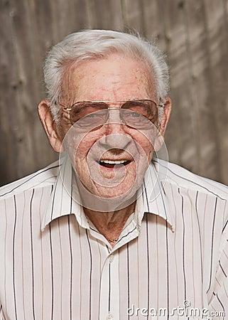 Old man senior citizen