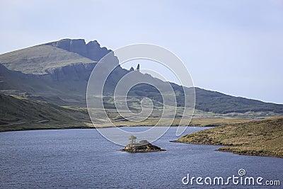 Old man of storr isle of skye highlands scotland