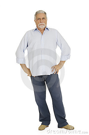Free Old Man With Severe Serious Look Stock Photos - 17806753
