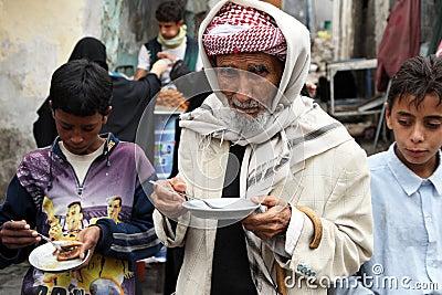 Old man in yemen Editorial Stock Image