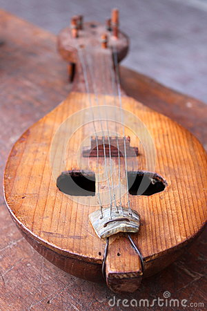 Old mandolin