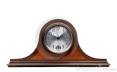 An Old Mantle Clock