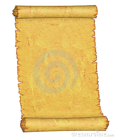 Old manuscript. Blank.
