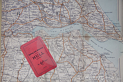 Old map of Hull