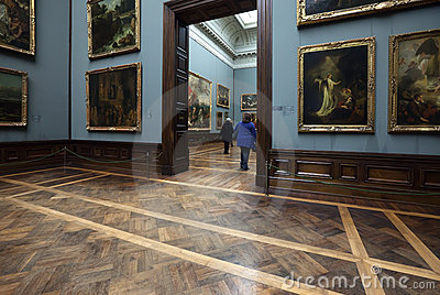 Old Masters Picture Gallery in Dresden Editorial Stock Image