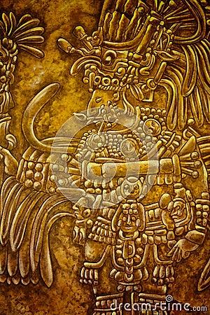 Old Mayan Art