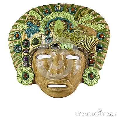 Ancient Mayan Masks mayan clay masks stock photography - image ...