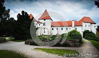 Old medieval castle. Varazdin, Croatia
