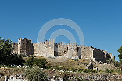 Old Medieval Fort Castle From Middle Ages
