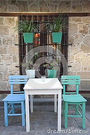 Old mediterranean restaurant
