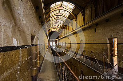 Old Melbourne Gaol Editorial Stock Image