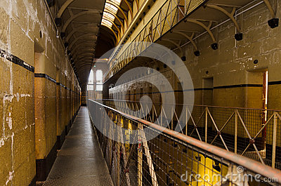 Old Melbourne Gaol Editorial Image