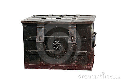 Old metal box