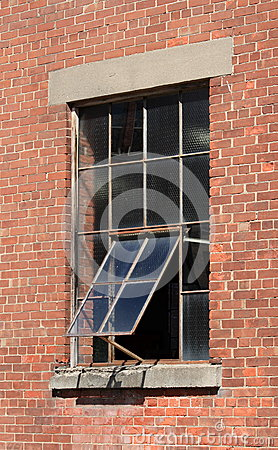 Old Metal Framed Window