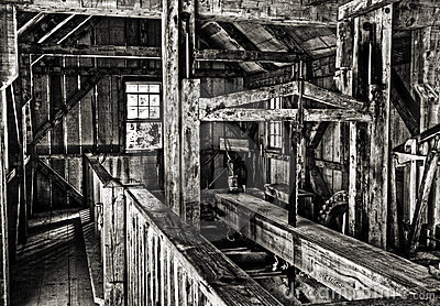 Old Michigan sawmill