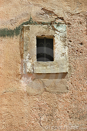 Old middle age window