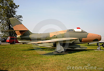 Old military jet