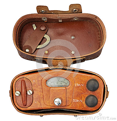 Old military radiation meter