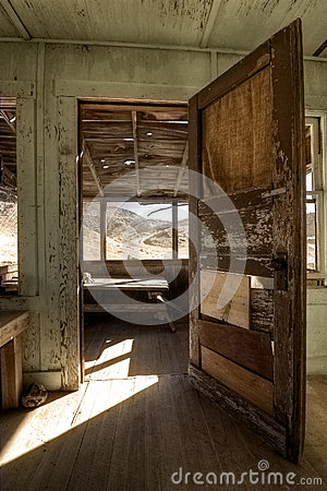 Old Miners Shack Interior
