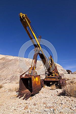 Old Mining Excavator