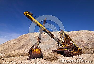 Old Mining Heavy Equipment