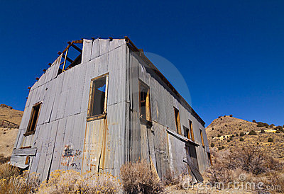 Old Mining Mill Building