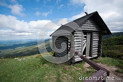 Old mining shack