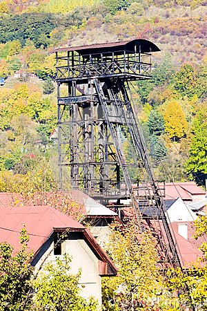 Old Mining Tower Royalty Free Stock Photos - Image: 14902538