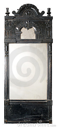 Free Old Mirror. Royalty Free Stock Photography - 17465177