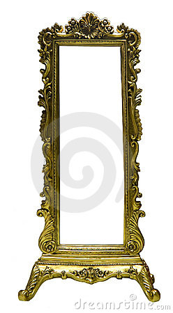 Free Old Mirror Frame Royalty Free Stock Image - 6252306