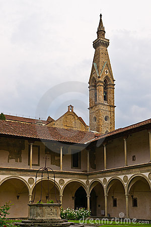 Old monastery in Florence