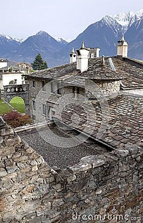 Old monastery in Monastero di Berbenno