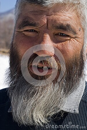 Old Mongoloid Man 15