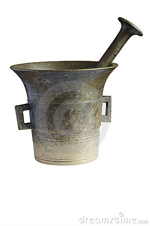 Free Old Mortar Royalty Free Stock Photography - 5228657